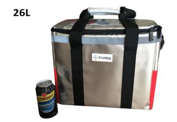 26L Insulated Cooler bag Flatpack Cold Chain Grade Design
